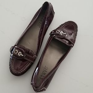 Flat Buckle Patent Loafers